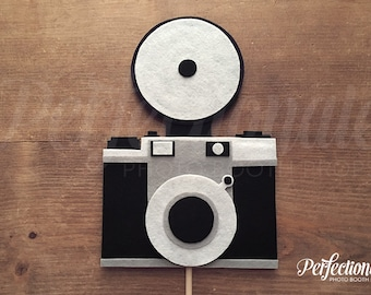 Paparazzi Camera Photo Booth Prop | Hollywood Photo Prop