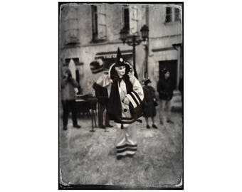 Pierrot, Carnaval Photo, Limoux France, Carnival, Travel Photography, French Festival