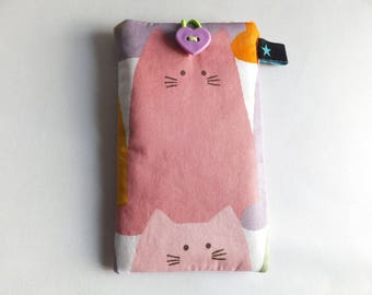 Cell phone cover Cat
