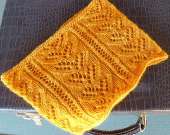 Lemoncello Cowl PDF pattern in English and French