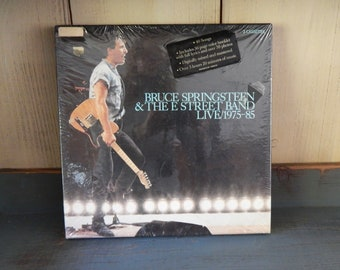 Bruce Springsteen & The E Street Band Live 1975-85 Factory Sealed Box Three Cassettes - The Boss