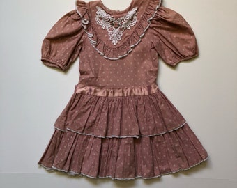 1979's Mauve Rose Tiered Dress (6)