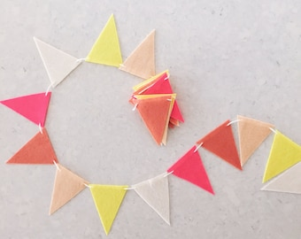 Large Felt Triangle Garland