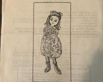 Craft Books Mail Order Design 7197 Storybook Doll
