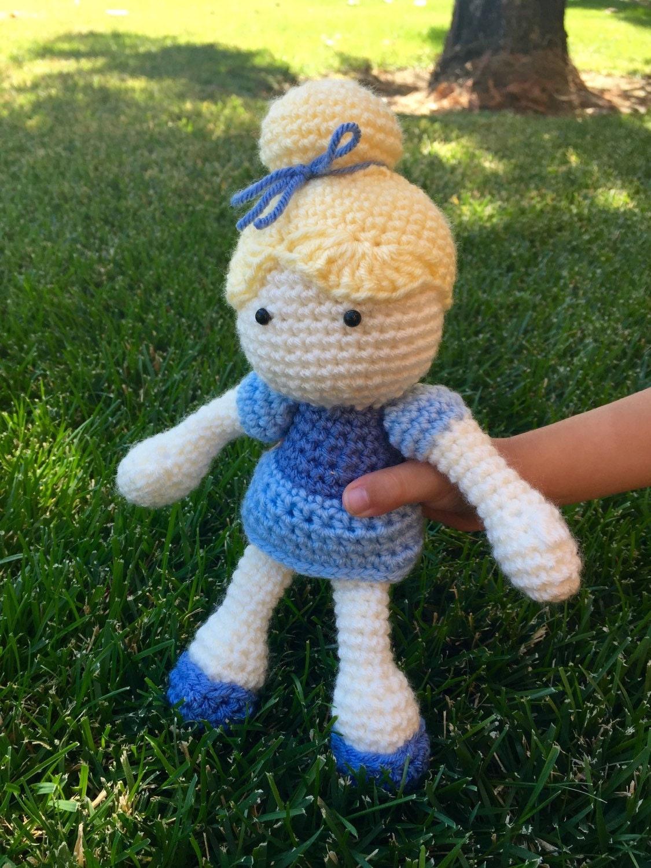 Cinderella Soft Toy Doll : Cinderella inspired doll soft toy plush stuffed