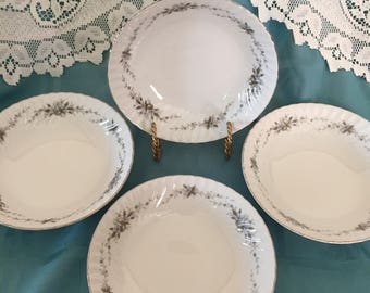 Gorgeous Royal Hostess Flair/ Alyce 492 Soup Bowls - set of 4