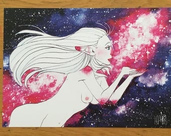Goddess of the universe- print
