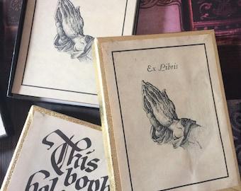 Vintage Antioch Publishing Ex Libris Bookplate Sets