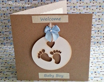 baby boy card, just born card, new baby card,  rustic baby boy card, new baby boy card, rustic new baby card, baby card