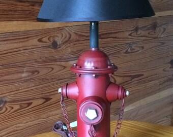 Fire Hydrant Lamp