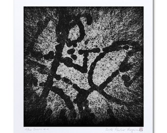 """Black And White Art Print, Limited Edition Prints """"Guerre #1"""" Black And White Print, Graphic Art, Wall Art, Contemporary Art Print Shop"""