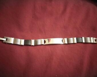 Men's Stainless steel bracelet.