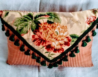 vintage envelope pillow