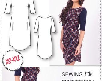 Dress Patterns - Womens Sewing Patterns - Dress Patterns for Women - Sewing Tutorials - Simple Dress Pattern - Easy Dress Patterns