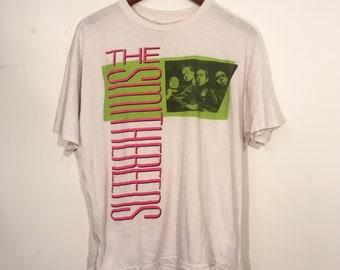 Vintage 80's Smithereens Tour Shirt Large