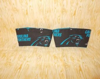 Carolina Panthers Coffee Cup Cozy Set of 2