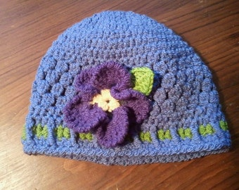 Periwinkle and pansy