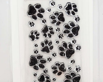 KaiserCraft Background Clear Stamps -- Acrylic -- Furry Friends Dog