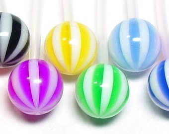 BEACH BALL Sports or Pregnancy Belly Button Ring
