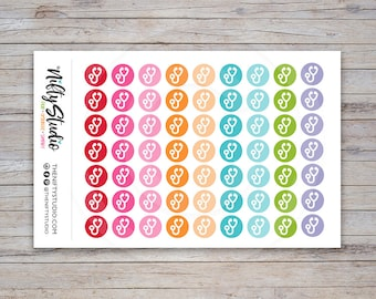 Doctor Stickers | Doctor Appointment Stickers | Planner Stickers | The Nifty Studio [119]