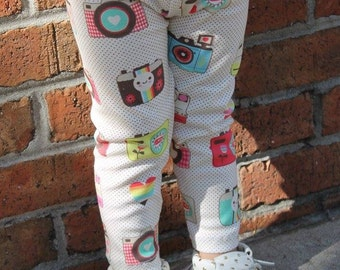Vintage Camera Leggings