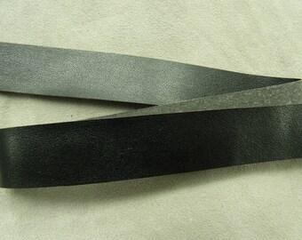 Leatherette Ribbon - 2 cm - Navy