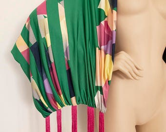 Made to Order - Large Double Sided Scarf - Modern Scarf - One of a kind - Gift for Her