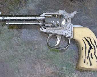 Vintage Mid Century Faux Antler Toy Gun