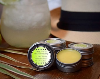 Island House Moustache Wax for Men's grooming and Moustache care, 1/2 oz.