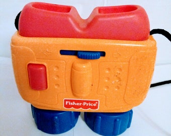 Vintage 1998 Fisher Price Toy Binoculars