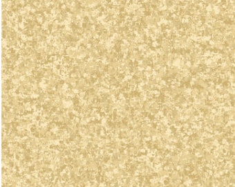 Sand Tan Solid Textured Fabric - Quilting Treasures QT Basics Color Blend - 23528 E - Priced by the 1/2 yard