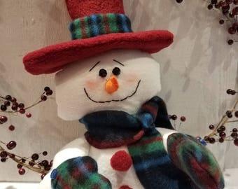 Snowman,Snowman shelf,sitter,Snow people,Shelf Sitter,Country Snowman,Primitive Snowman,Christmas decor,Winter decor,Holiday decor,