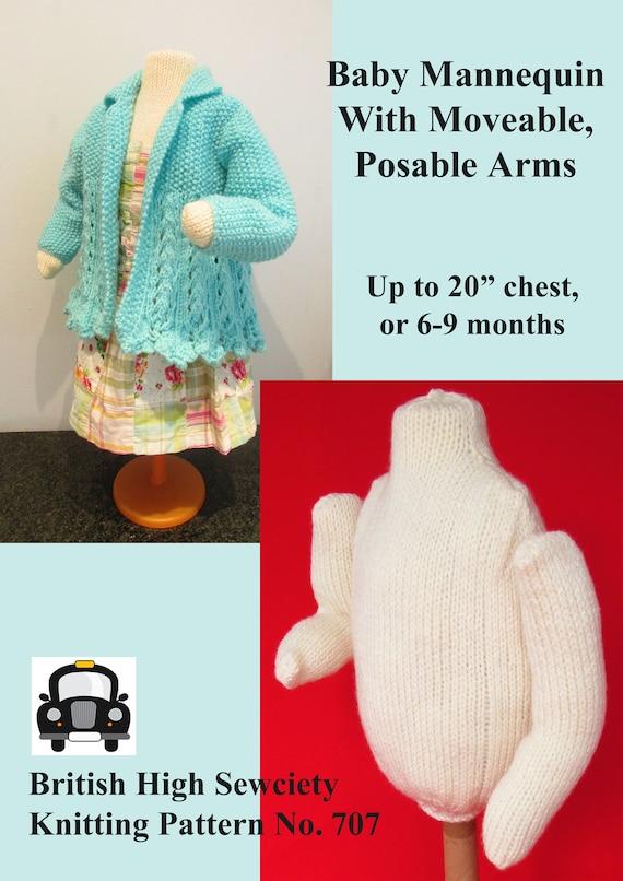 Punto para maniquí de bebé caber 20 pecho o 6 a 9 meses