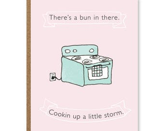 LITTLE STORM Baby Card