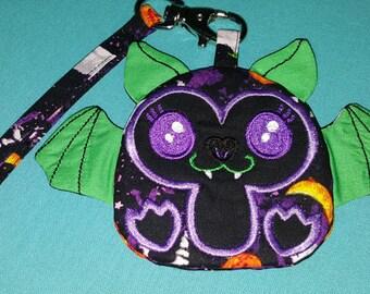 Vampire Bat Wristlet