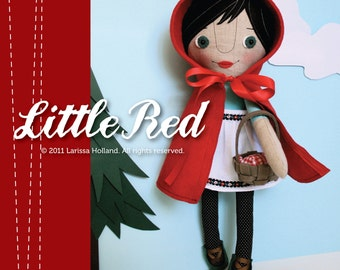 Little Red PDF Pattern