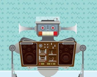Retro Robot #1