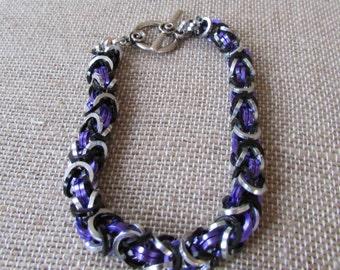 Hawkeye Inspired Byzantine Bracelet