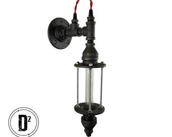 Iron Pipe Sconce