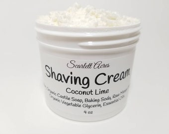 Whipped Shaving Cream, Shaving cream for women, natural shaving cream, shaving soap, shaving cream for men, foaming shaving cream