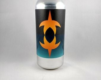 Aslin bière peut bougie, bougie de soja parfumée, bougie de bières artisanales