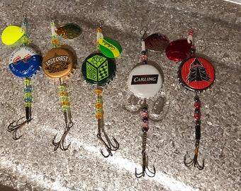 Bottle cap Fishing Lures, miscellaneous