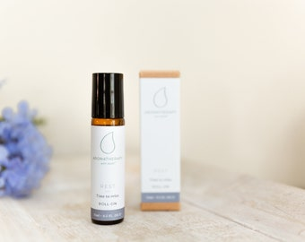 REST - Aromatherapy Blend - Take time out and relax with the Rest essential oil blend