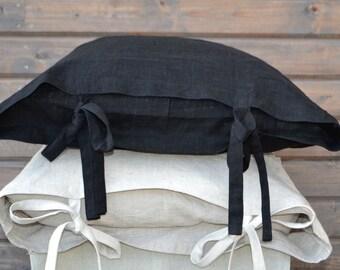 natural linen pillow cowers, 50x75cm,2 Linen Pillow Covers, Decorative Pillow, Throw Pillow Linen