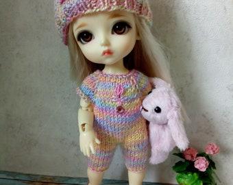 "PukiFee Lati Yellow Aquarius 15-16 сm BJD Big Set ""Spring rainbow"" for dolls of Tiny format"
