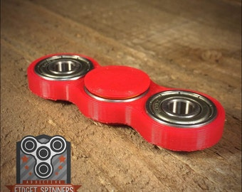 EDC Spinner Dual Bar Fidget Toy with Caps