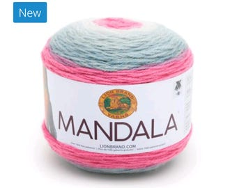 Mandala Yarn - Lion Brand - Unicorn 201