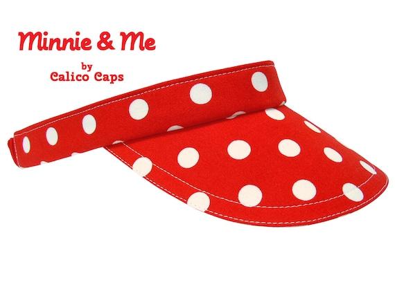 Disneys Minnie Mouse Minnie Rocks the Dots Velcro Adjustable Kids Cap