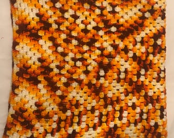 Vintage Baby Knitted blanket - Warm