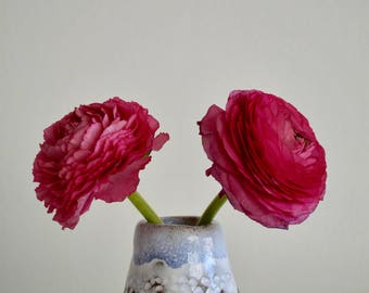 Pottery Bud Flower Vase